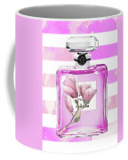 Chanel Pink Flower 5 Coffee Mug