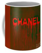 Chanel Plakative Fashion - Neon Weave Coffee Mug