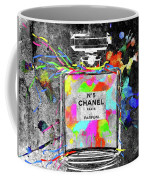 Chanel Rainbow Colors Coffee Mug