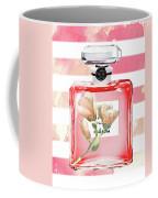 Chanel Red Flower Coffee Mug