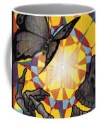 Change Mandala Coffee Mug by Deadcharming Art