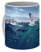 Channel Islands Whales Coffee Mug