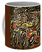 Chaos On The Track Coffee Mug