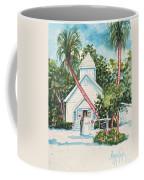 Chapel By The Sea Captiva Coffee Mug