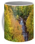 Chapel Falls Autumn Upper Peninsula Michigan Coffee Mug