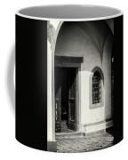 Chapel In Riomaggiore Cinque Terre Italy Bw Coffee Mug