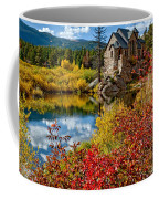 Chapel On The Rock Fall Coffee Mug