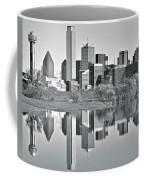 Charcoal Big D Reflection Coffee Mug