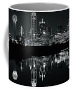 Charcoal Night In Dallas Coffee Mug
