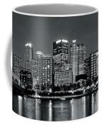 Charcoal Panoramic In Pittsburgh 2017 Coffee Mug