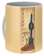 Chardonnay Wine And Grapes Coffee Mug