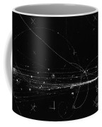 Charged Particles, Bubble Chamber Event Coffee Mug