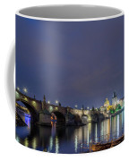 Charles Bridge At Night Coffee Mug