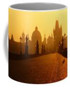 Charles Bridge Prague At Sunrise Coffee Mug