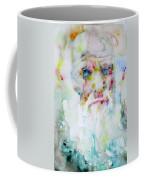 Charles Darwin - Watercolor Portrait.5 Coffee Mug