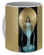 Charles Hall - Creative Arts Program - Full Moon Coffee Mug