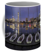 Charles River Boats Clear Water Reflection Coffee Mug