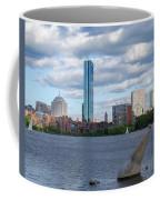 Charles River Boston Ma Crossing The Charles Coffee Mug