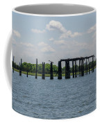 Charleston Export Coal Terminal Wooden Testle Coffee Mug