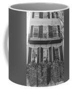 Charleston Style Home Black And White Coffee Mug