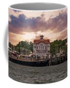 Charleston Wharf Coffee Mug