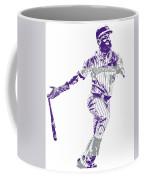 Charlie Blackmon Colorado Rockies Pixel Art 10 Coffee Mug