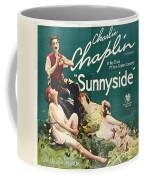 Charlie Chaplin In Sunnyside 1919 Coffee Mug