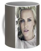 Charlize Theron Blue Eyed Blonde Blouse Celebrity Hollywood 31116 640x960 Coffee Mug