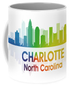 Charlotte Nc Coffee Mug by Angelina Vick