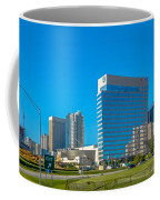 Charlotte North Carolina Cityscape Of Downtown Coffee Mug