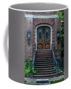 Flanking Cast Iron Lanterns Coffee Mug