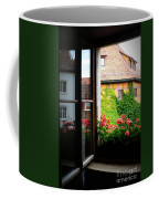 Charming Rothenburg Window Coffee Mug