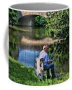 Chartres, France, A Good Day Fishing Coffee Mug
