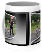 Chasing Bubbles - Gently Cross Your Eyes And Focus On The Middle Image Coffee Mug