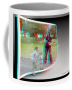Chasing Bubbles - Use Red-cyan 3d Glasses Coffee Mug