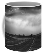 Chasing The Storm - County Rd 95 And Highway 52 - Colorado Coffee Mug