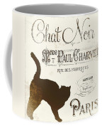 Chat Noir Paris Coffee Mug