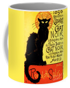 Chat Noir Vintage Coffee Mug
