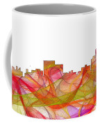 Chatanooga Tennissee Skyline Coffee Mug