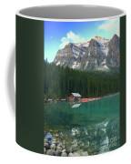 Chateau Boat House Coffee Mug