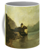 Chateau De Chillon Coffee Mug by Gustave Courbet