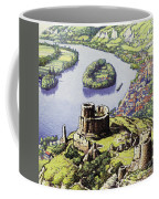 Chateau Gaillard, Also Known As The New Castle Of The Rock  Coffee Mug