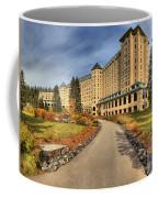 Chateau Lake Louise Alberta Canada Coffee Mug