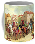 Chaucer's Pilgrims Coffee Mug by van der Syde