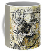 Chauvet Three Rhinoceros Coffee Mug