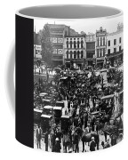 Cheapside Public Square In Lexington - Kentucky - April 7  1920 Coffee Mug