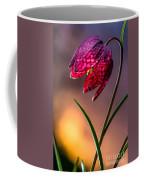Checkered Lily Coffee Mug