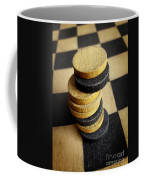 Checkers On A Checkerboard Coffee Mug