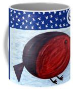 Cheeky Christmas Robin Coffee Mug