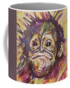 Cheeky Lil' Monkey Coffee Mug